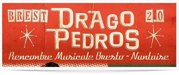 Graphisme Festival Drago Pedros Fabien Molina illustrateur graphiste weddesigner indépendant freelance Nantes