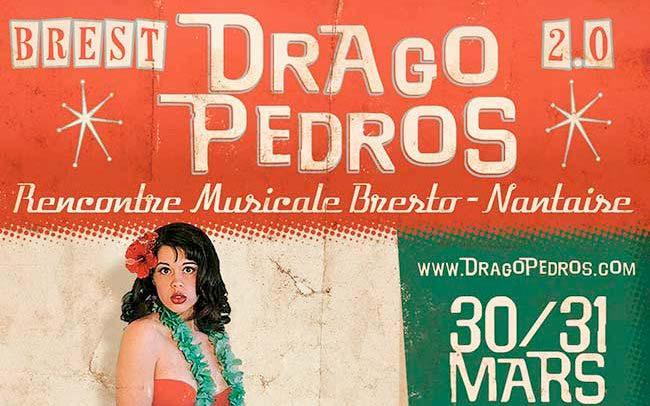 Portfolio graphisme affiche et graphisme d'un festival de musique nantais et brestois