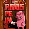 Etiquette Dumnac Beers - Furious pig